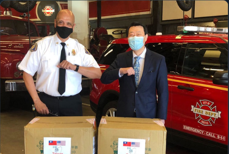 sfd thanks taiwan for 7000 masks