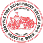 Seattle Fire Dept Relief logo